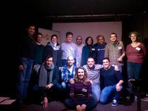Foto de los asistentes a la 45ª reunión
